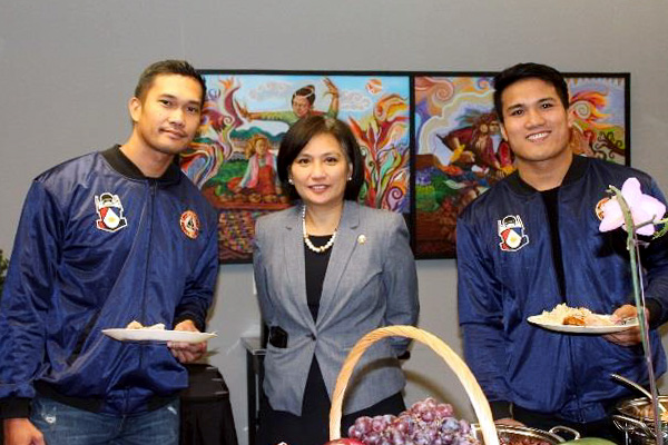 VPCG Welcome the Philippine National Bobsled Team