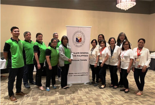 Philippine Consulate General in Vancouver Conducts Consular Outreach Mission in Fort St. John, British Columbia