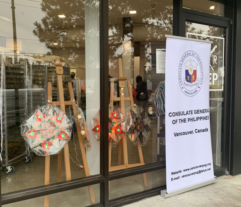PHILIPPINE CONSULATE GENERAL IN VANCOUVER HOLDS MALIGAYANG PASKO, VANCOUVER 2020! VIRTUAL CHRISTMAS MARKET