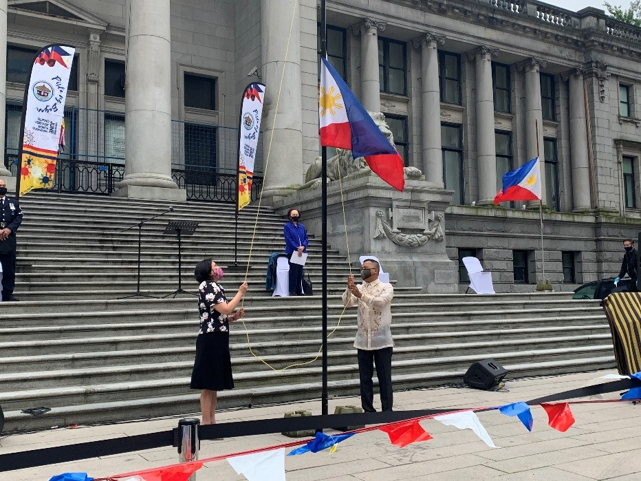 Philippine Consulate General in Vancouver  Joins UFCABC's Pista ng Bayan