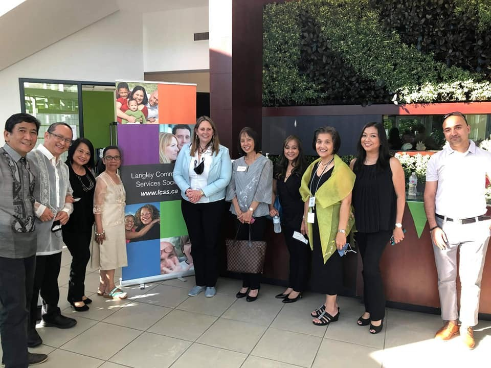 PHILIPPINE CONSULATE GENERAL IN VANCOUVER JOINS THE LANGLEY COMMUNITY SERVICES SOCIETY (LCSS) IN CELEBRATING FILIPINO HERITAGE MONTH
