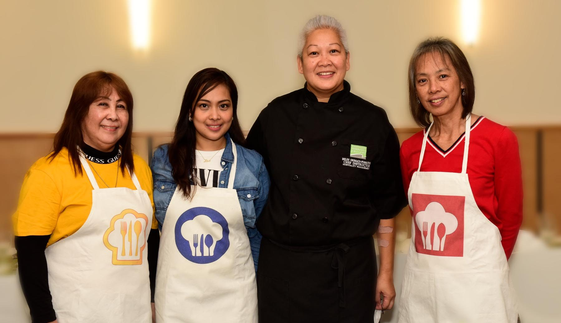 Vancouver PCG Officers and Staff Undergo Hands-On Training  on Filipino Cuisine